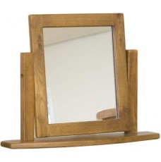 Homestyle Rustic Oak Dressing Table Mirror