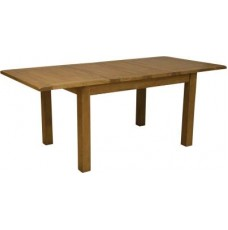Homestyle Rustic Oak Extending Dining Table