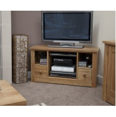 Torino Contemporary Oak Corner TV Unit