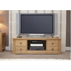 Torino Contemporary Oak Large Plasma Unit