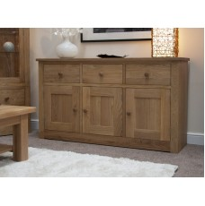 Torino Contemporary Oak Large Sideboard
