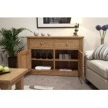Torino Contemporary Oak Medium Sideboard
