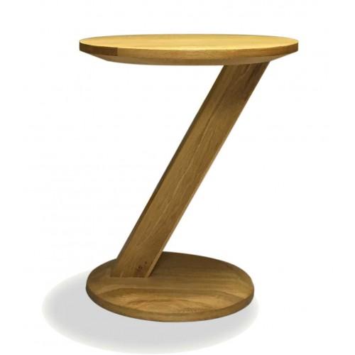 Z oak designer modern oak lamp table for Z oak lamp table