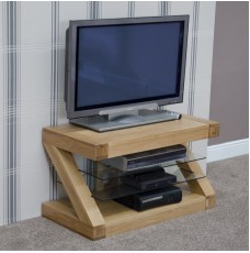 Z Oak Designer TV Unit