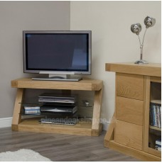 Z Oak Designer Corner TV Unit