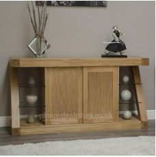 Z Oak Designer Large Sideboard