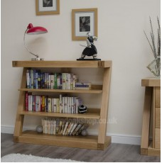 Z Oak Designer Small Bookcase