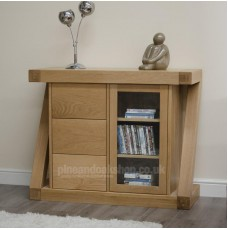 Z Oak Designer Glazed Chest